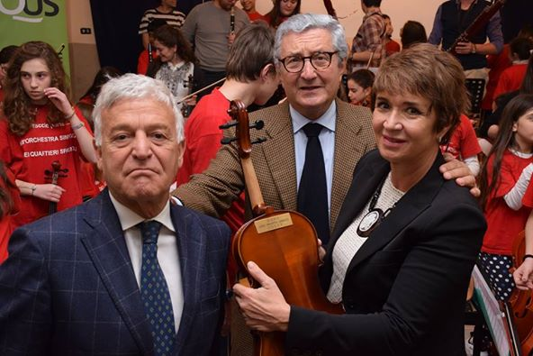 Claudio Zanfagna, Enzo De Paola e Giovanna Donadio