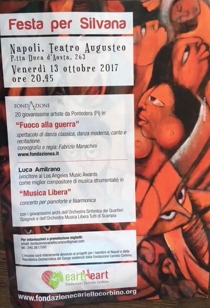 13 ottobre festa per silvana