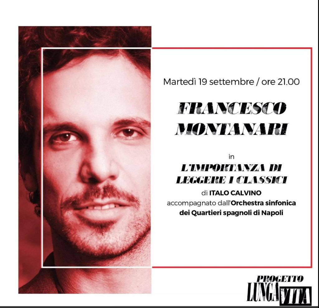 """_ FRANCESCO MONTANARI IN """"L'IMPORTANZA DI LEGGERE I CLASSICI"""" di ITALO CALVINO, ROMA 19 settembre 2017"""