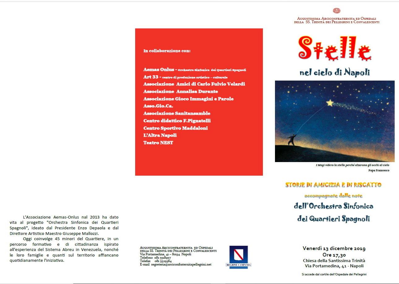 Concerto del 13 dicembre nella Chiesa dell'Arciconfraternita dei Pellegrini @ Chiesa dell' Arciconfraternita dei Pellegrini | Napoli | Campania | Italia