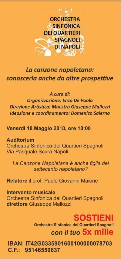 OSQS 2018.05.18 SEMINARIO 3 - la canzone napoletana è anche figlia nel '700 napoletano - 1